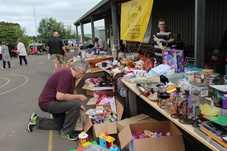 More of the garage sales at the Poowong Pickers Festival 24th October 2015.