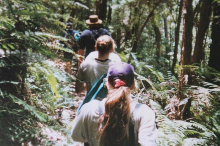 One of my many bushwalking adventures with my parents and four siblings.