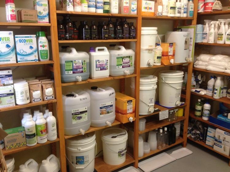 bulk in the health food store