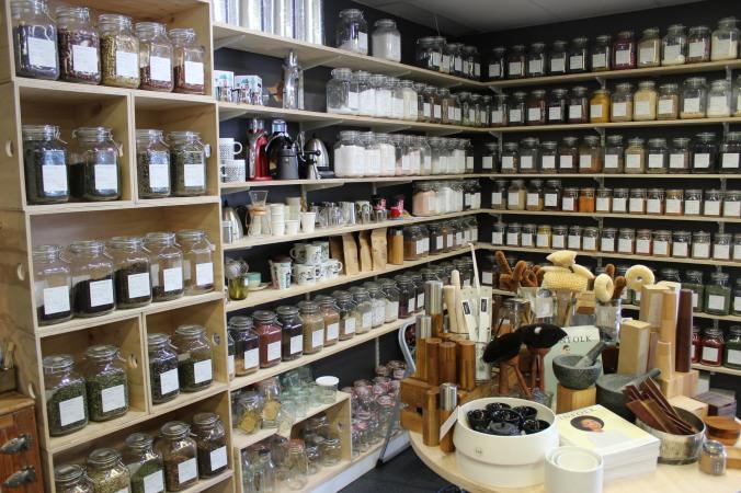 bulk teas, herbs and spices