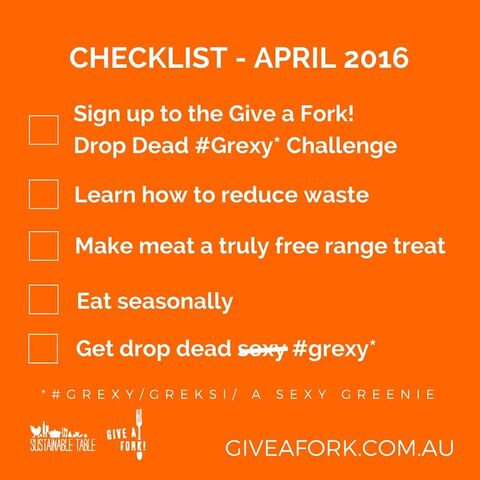 Drop Dead Grexy Checklist