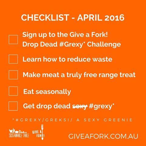 Drop Dead Grexy Checklist