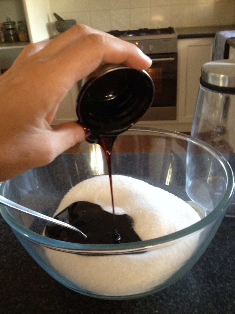 Making brown sugar