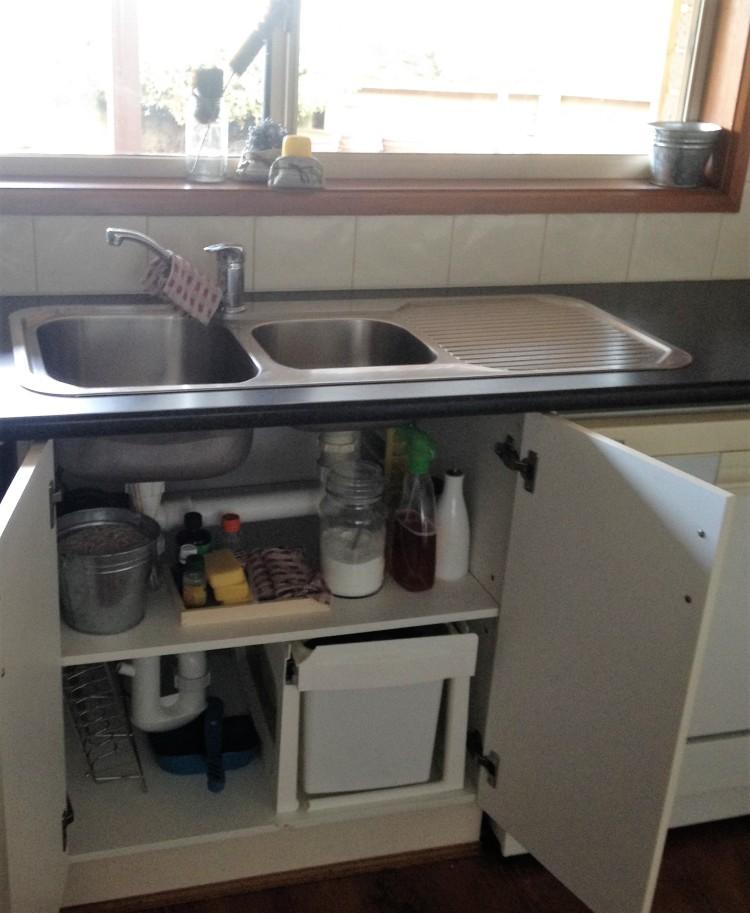 Zero waste kitchen sink