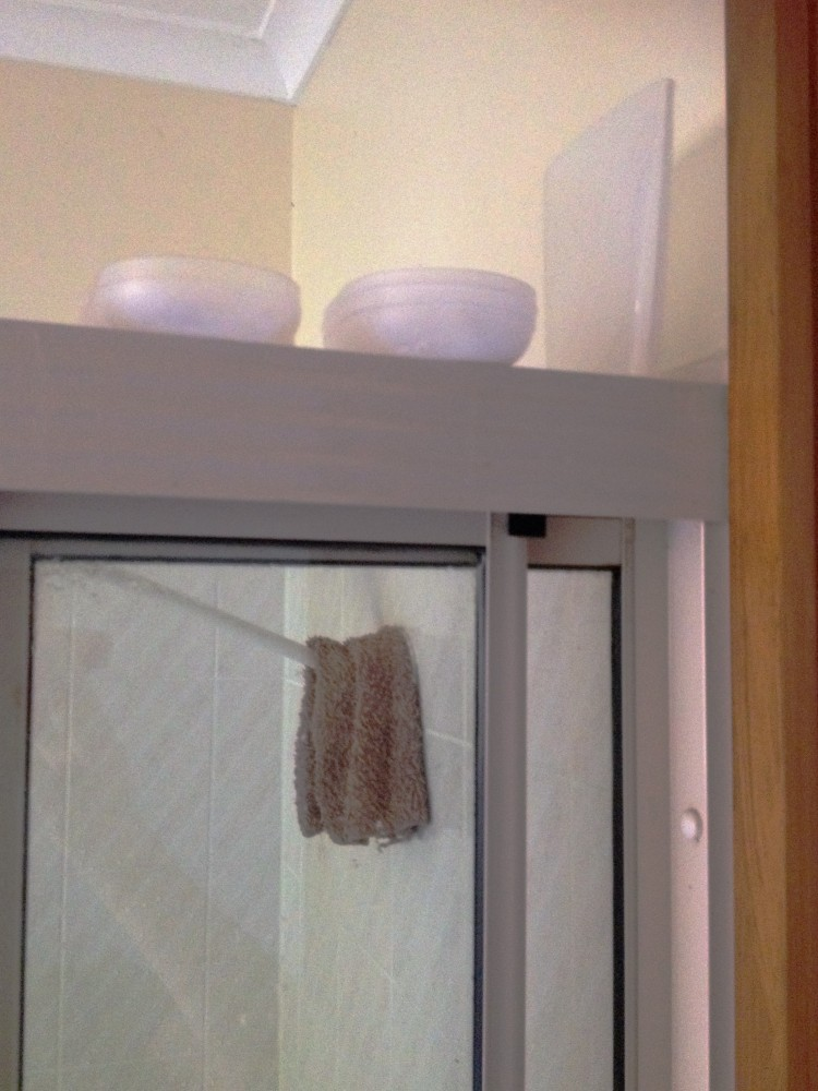 Zero waste shower