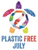 Plastic Free July Logo
