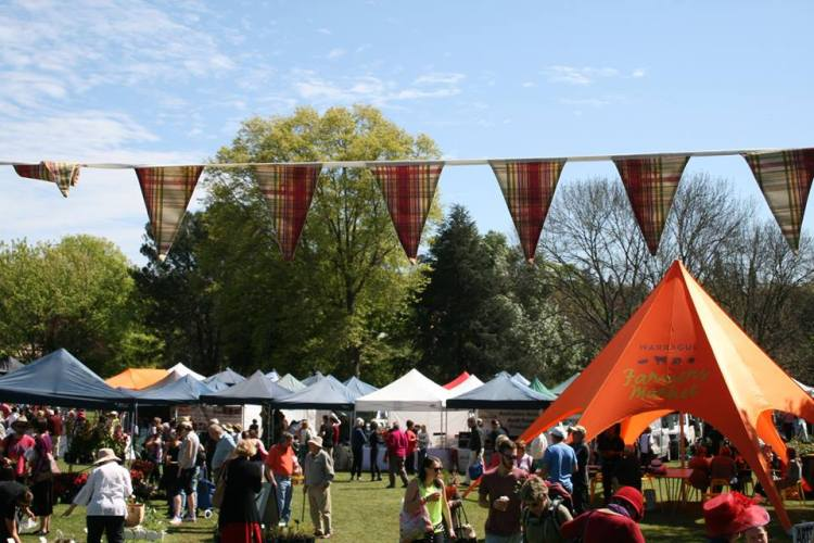 A day at the Warragul Farmers' Market.
