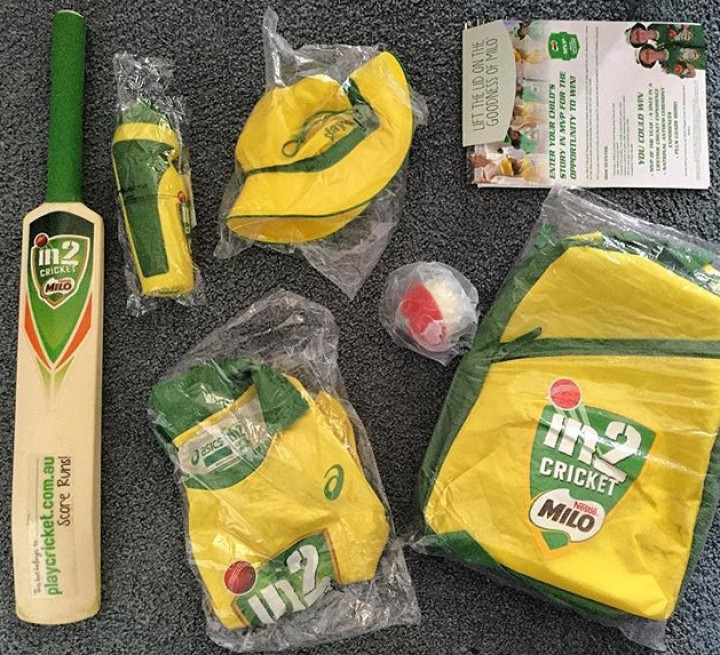 Milo In2 Cricket Participant Pack