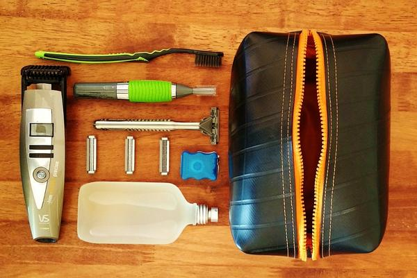 recycle creative toiletry bag