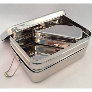 Sustain A Stacker stainless steel lunch box