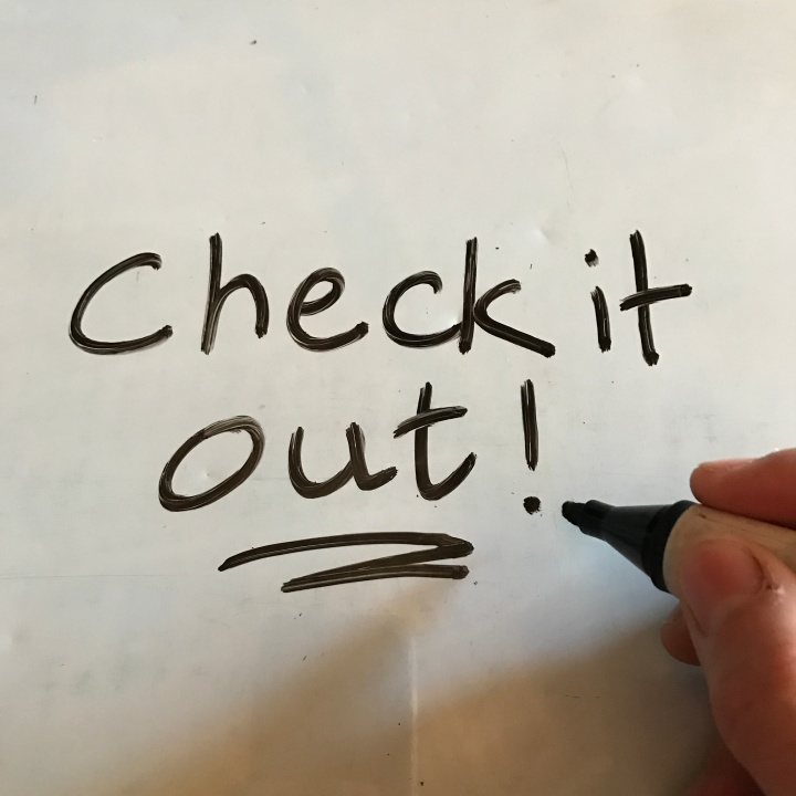Writing on whiteboard with Friendly Whiteboard Markers - 60% recycled paper