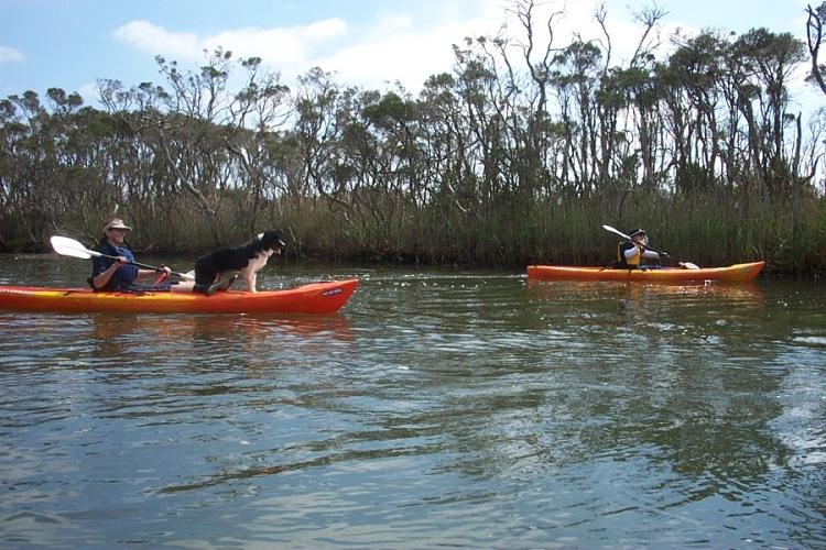 Maddie on Kayak