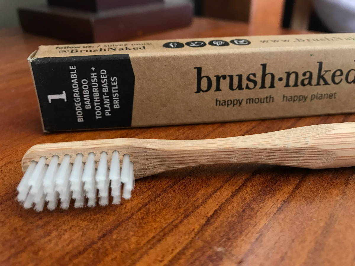 Finally A Toothbrush With Plant-Based Biodegradable Bristles