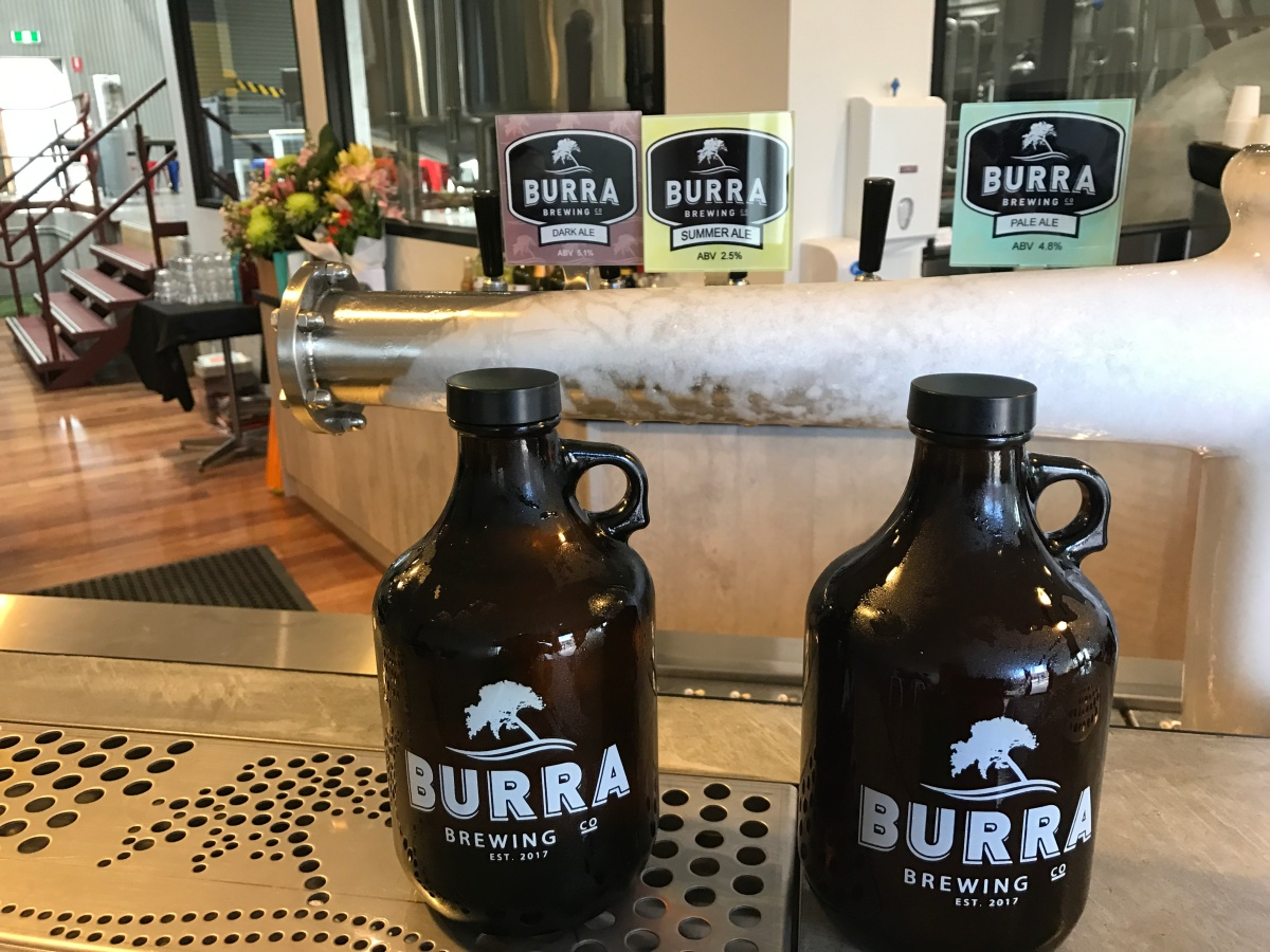 Growlers and Squealers for Local Zero Waste Beer and Cider To Go